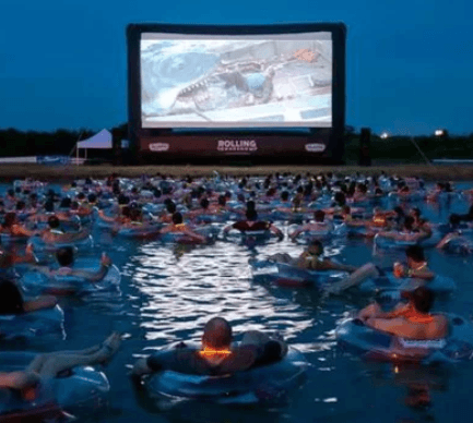 Screenshot 2019 06 13 at 12.05.11 You Can Now Watch Jaws Whilst Floating Around A Lake In A Rubber Ring