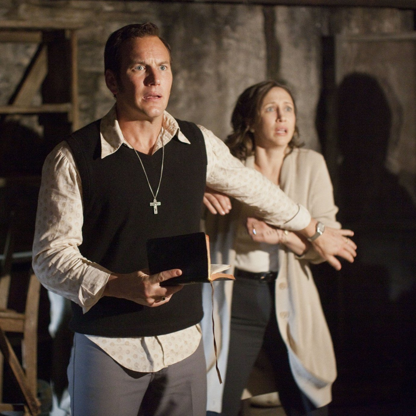 Still from The Conjuring Unexplainable Things That Happened On Movie Sets