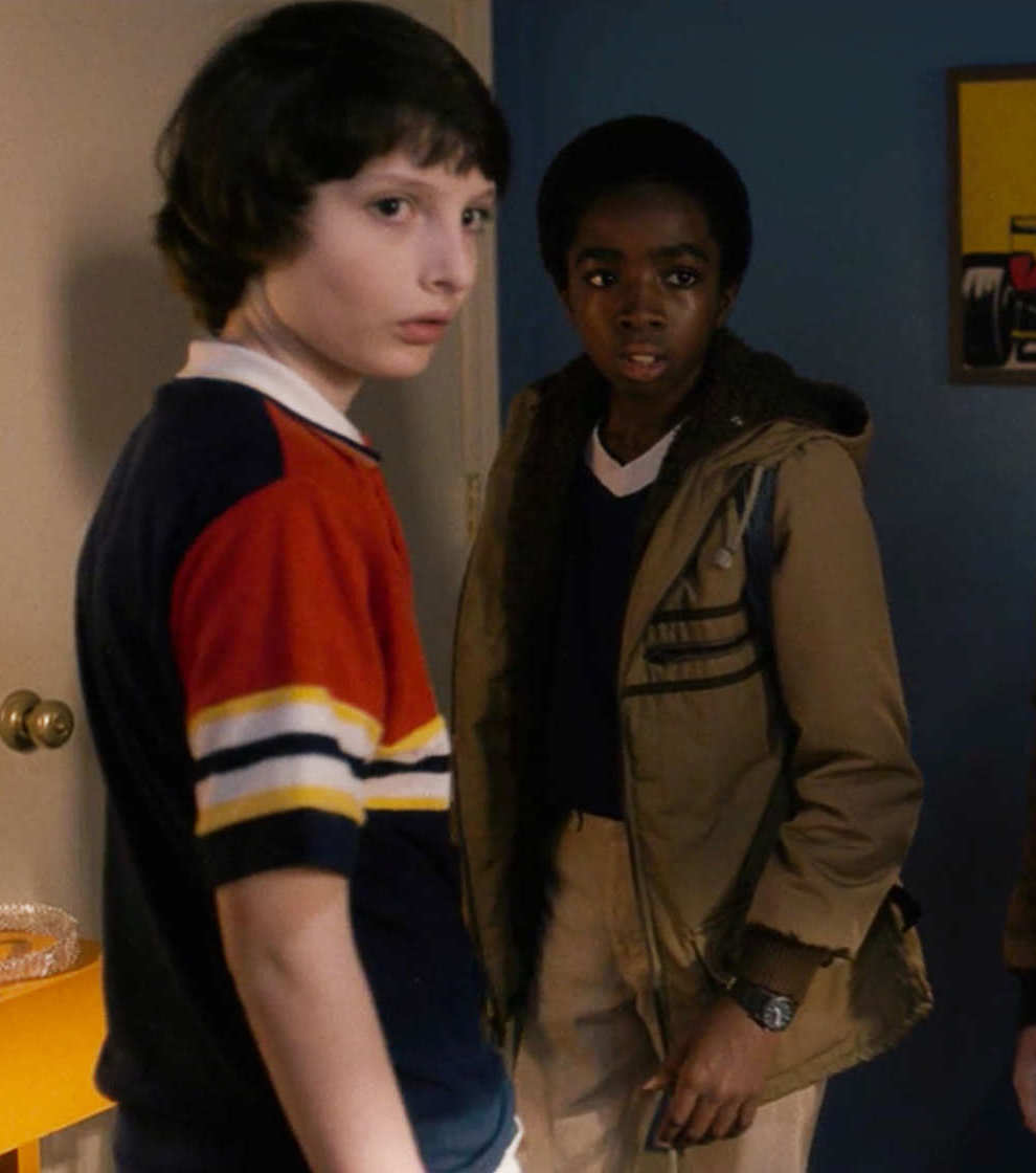 Stranger things boys look at Eleven 20 Things You Didn't Know About Stranger Things