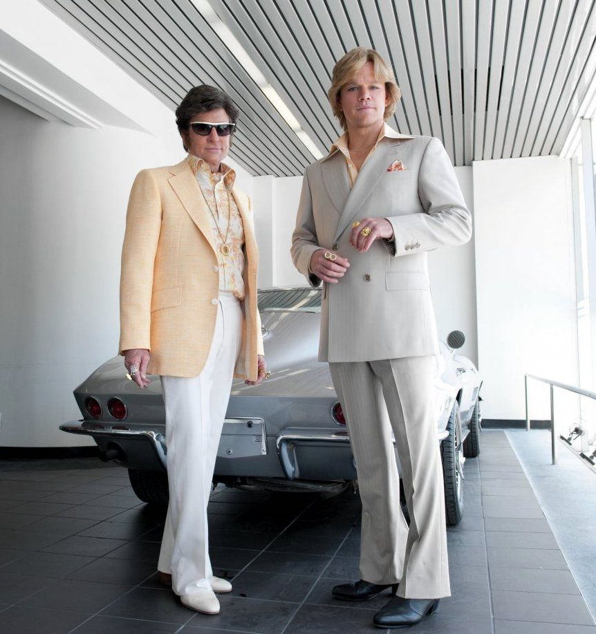 behind candelabra my life with liberace 2013 003 liberace thorson standing in front of car Unexplainable Things That Happened On Movie Sets