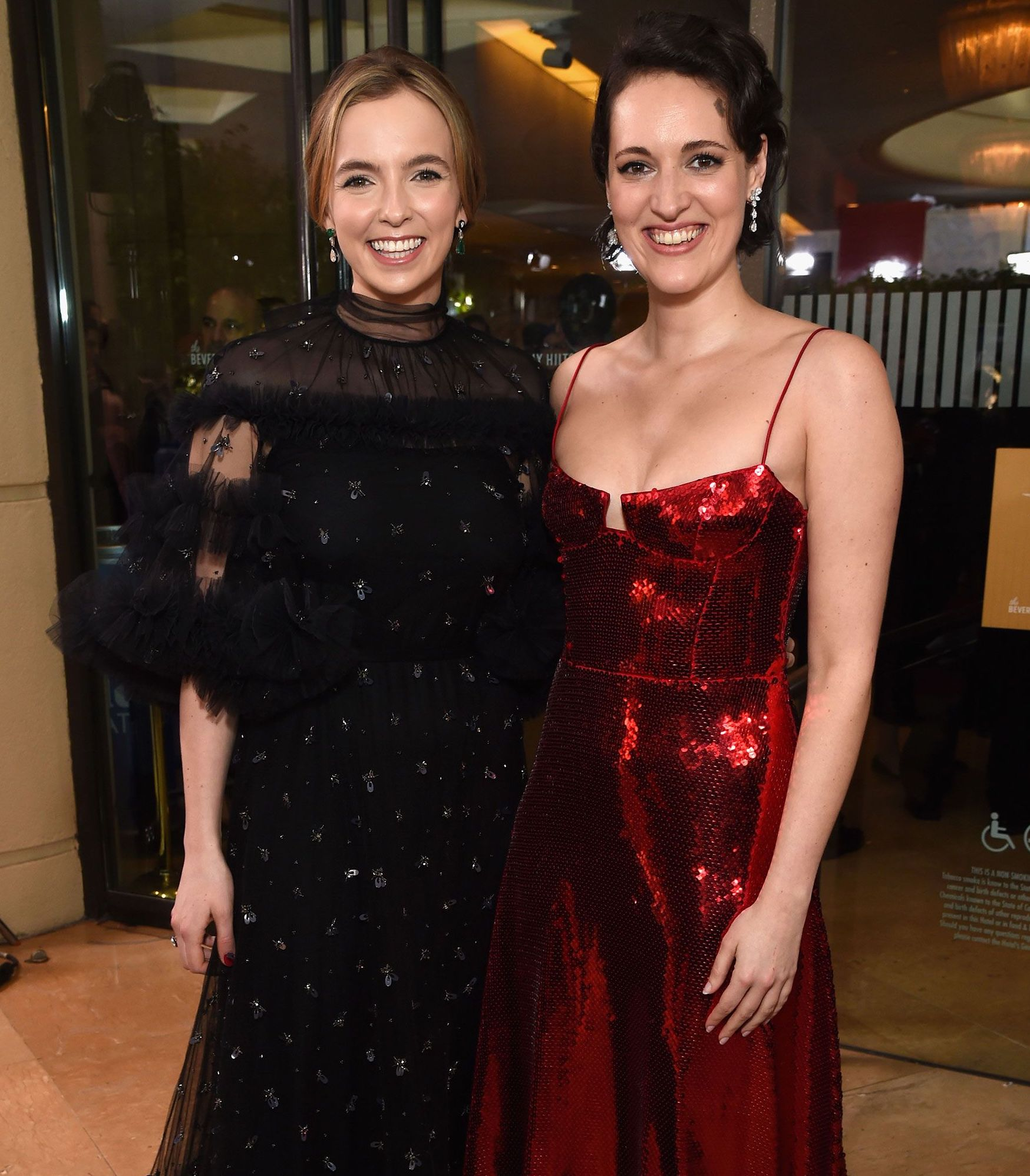 jodie comer phoebe waller bridge 1554197066 10 Things You Didn't Know About Killing Eve