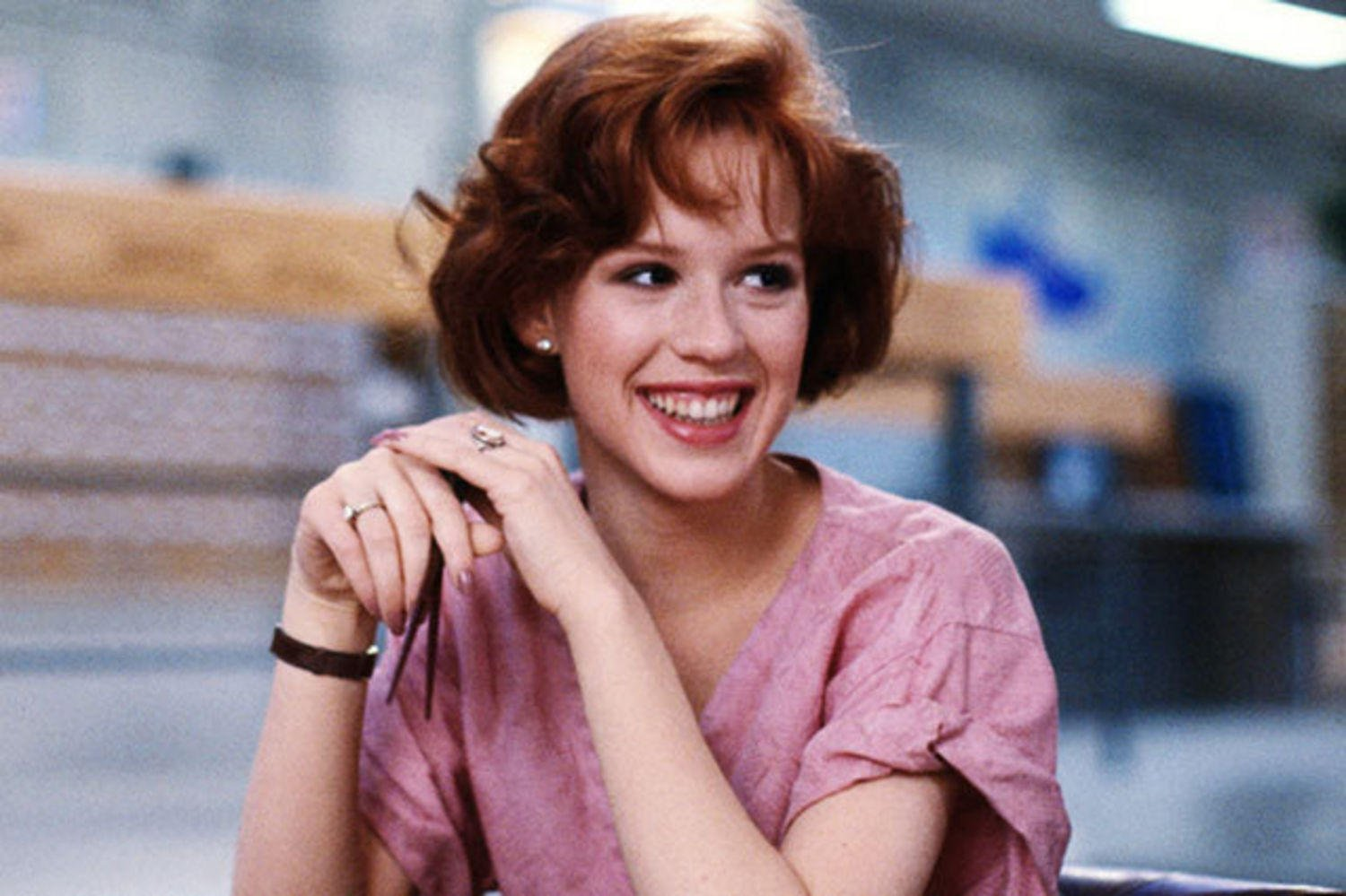 molly ringwald 1 Here's What The Cast Of The Breakfast Club Look Like Today