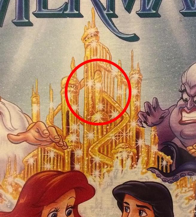 rudemermaid 29 Naughty Hidden Secrets In Disney Films