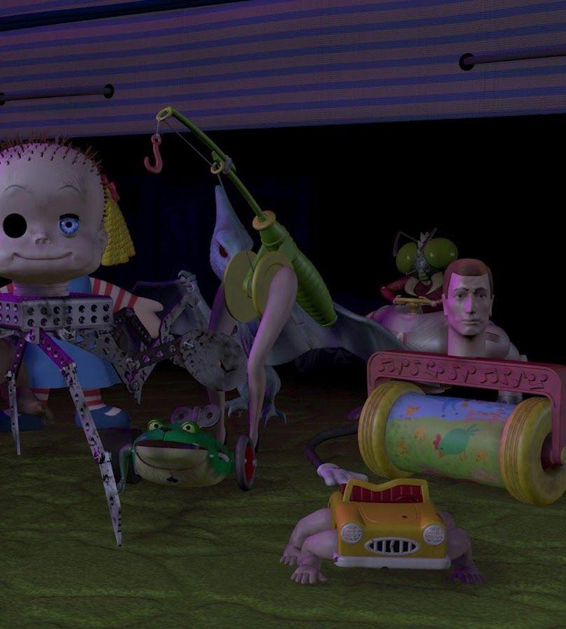 sids toys toy story 29 Naughty Hidden Secrets In Disney Films
