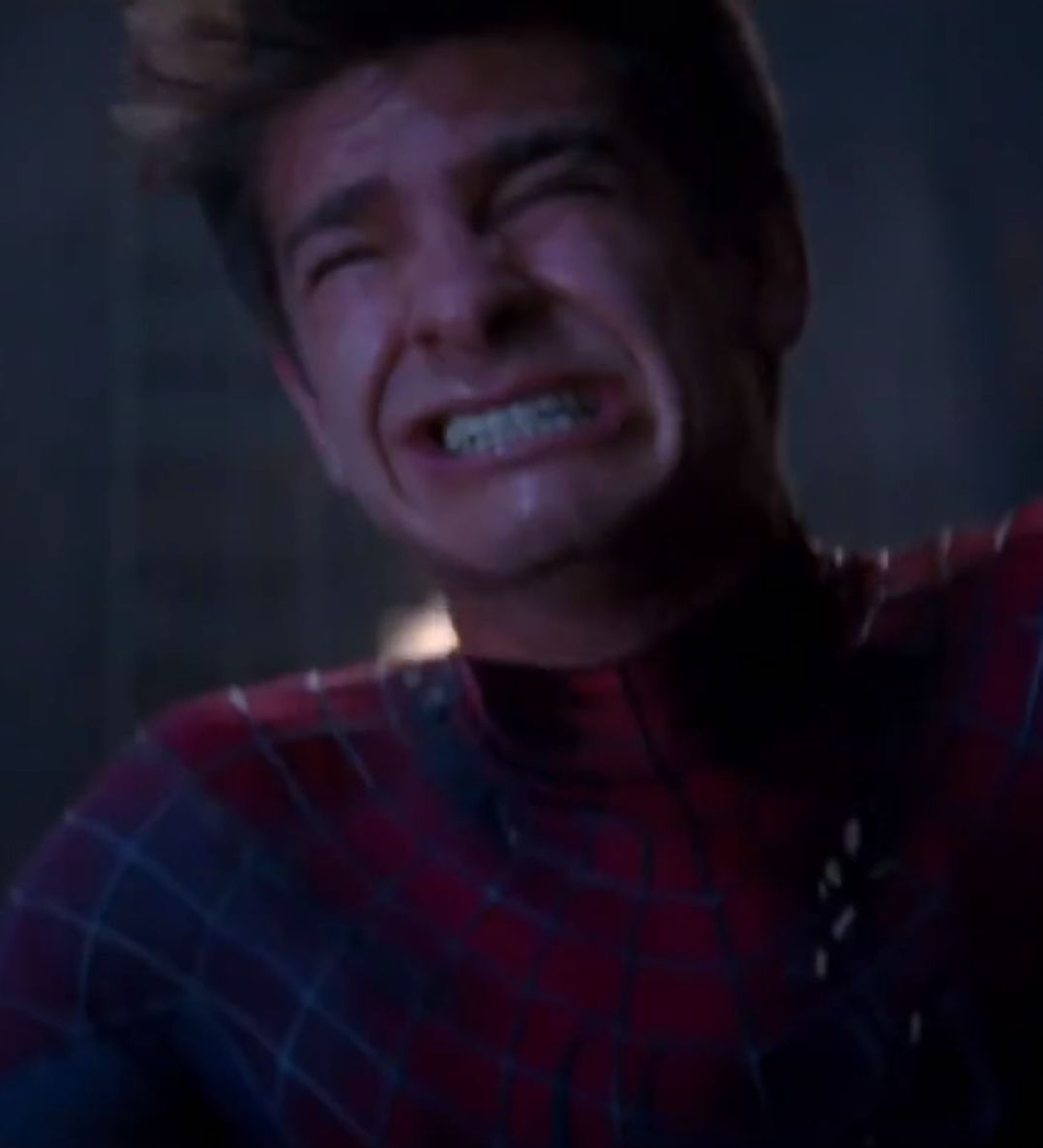 spidey cry 27 Things You Didn't Know About The Spider-Man Films