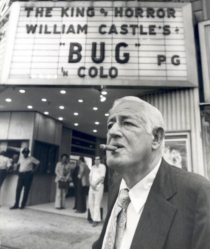 william castle at bug orig Unexplainable Things That Happened On Movie Sets