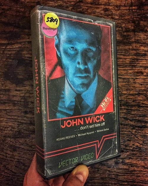 10 19 12 Modern Movies Brilliantly Reimagined As VHS Tapes