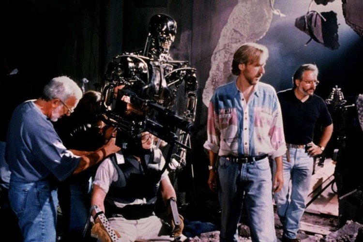 13 14 Rare Behind The Scenes Photos From Your Favourite 80s Sci-Fi Movies