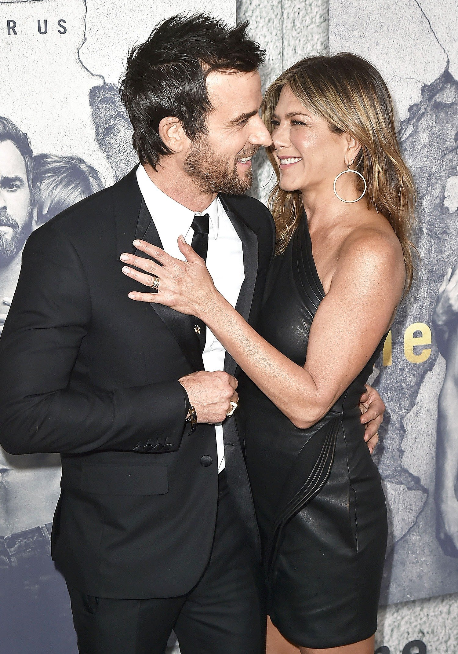 2 jen aniston and justin 1 20 Things You Never Knew About Jennifer Aniston