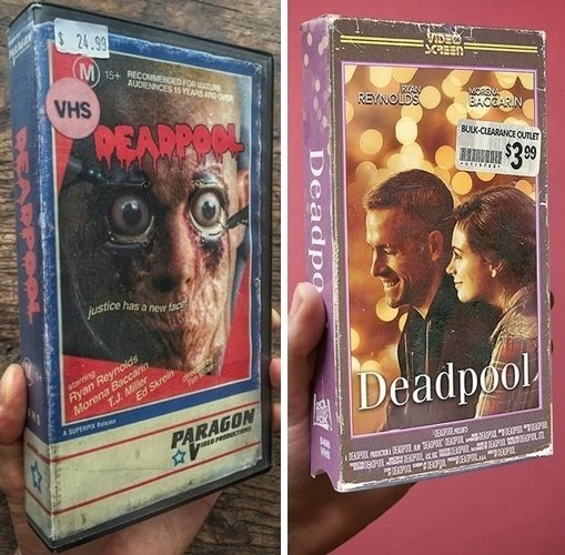 4 22 12 Modern Movies Brilliantly Reimagined As VHS Tapes