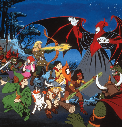 5Dungeons 12 Shows We Used To Rush Home From Primary School To Watch!