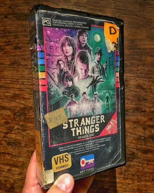 6 24 12 Modern Movies Brilliantly Reimagined As VHS Tapes