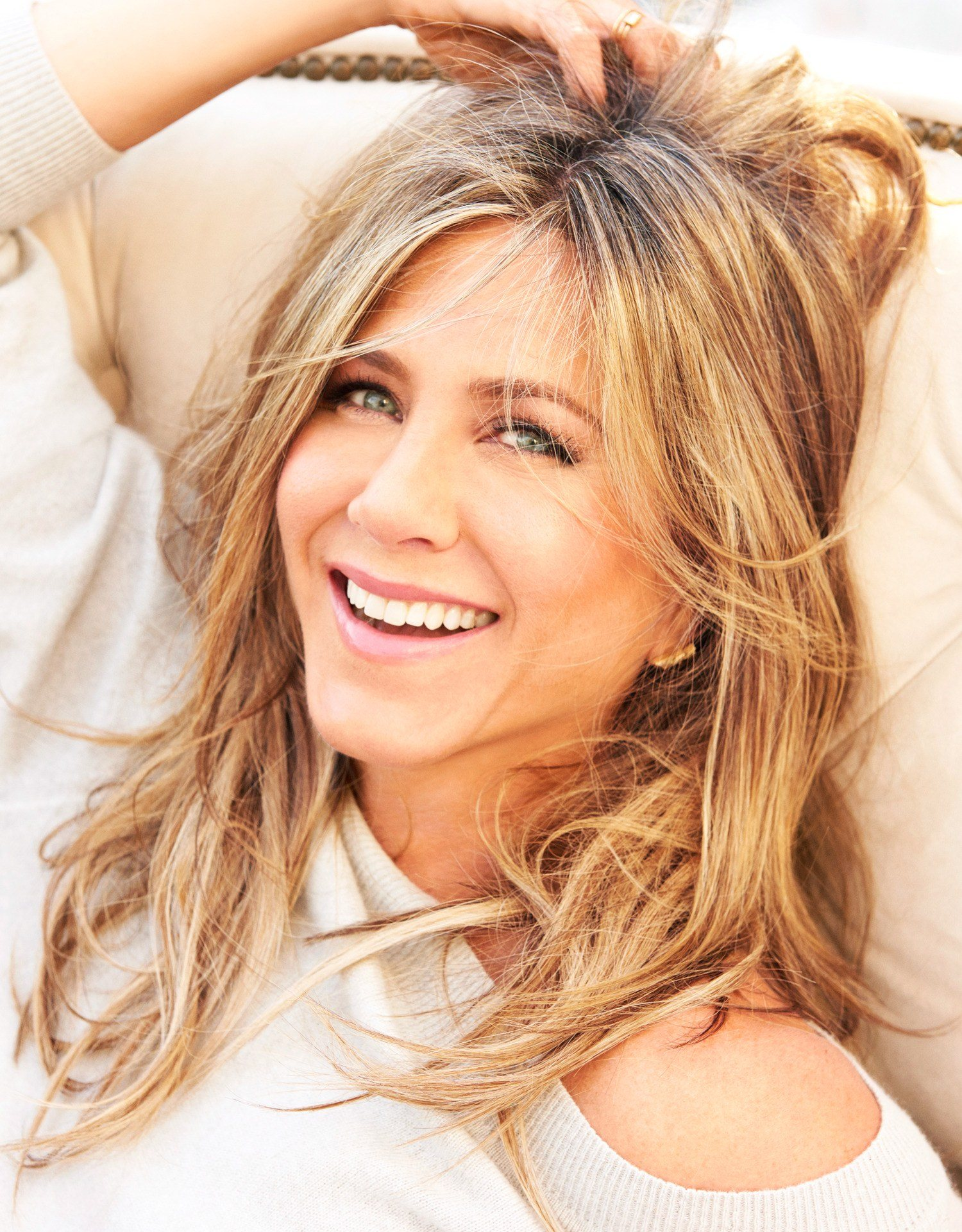 7 jen hair 1 20 Things You Never Knew About Jennifer Aniston