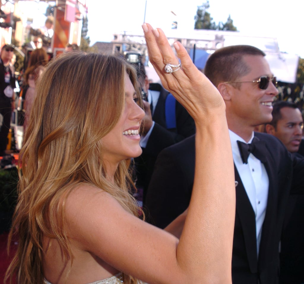 8 ring jen 20 Things You Never Knew About Jennifer Aniston