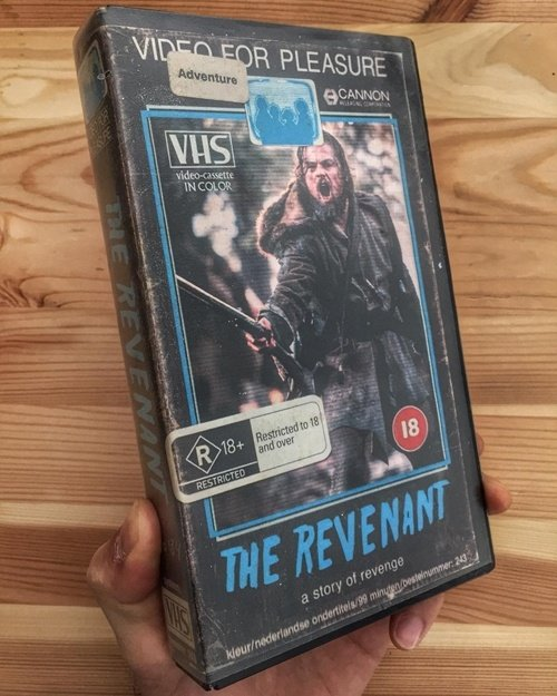 9 17 12 Modern Movies Brilliantly Reimagined As VHS Tapes
