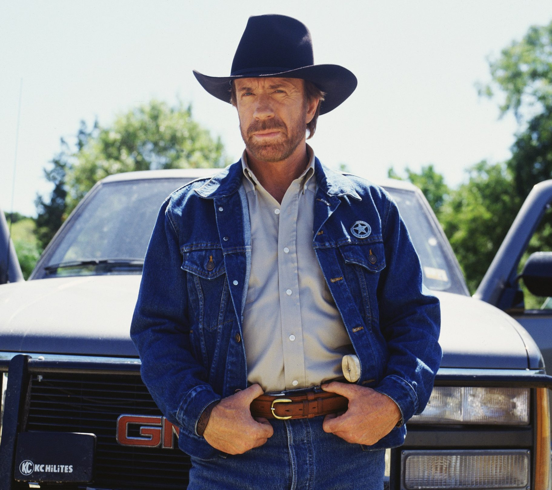 Chuck Norris as Walker Texas Ranger e1621862192765 25 Things You Probably Didn't Know About Jean-Claude Van Damme