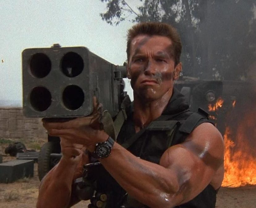 Commando 1 e1626358118949 10 Explosive Facts You Never Knew About Die Hard 2: Die Harder