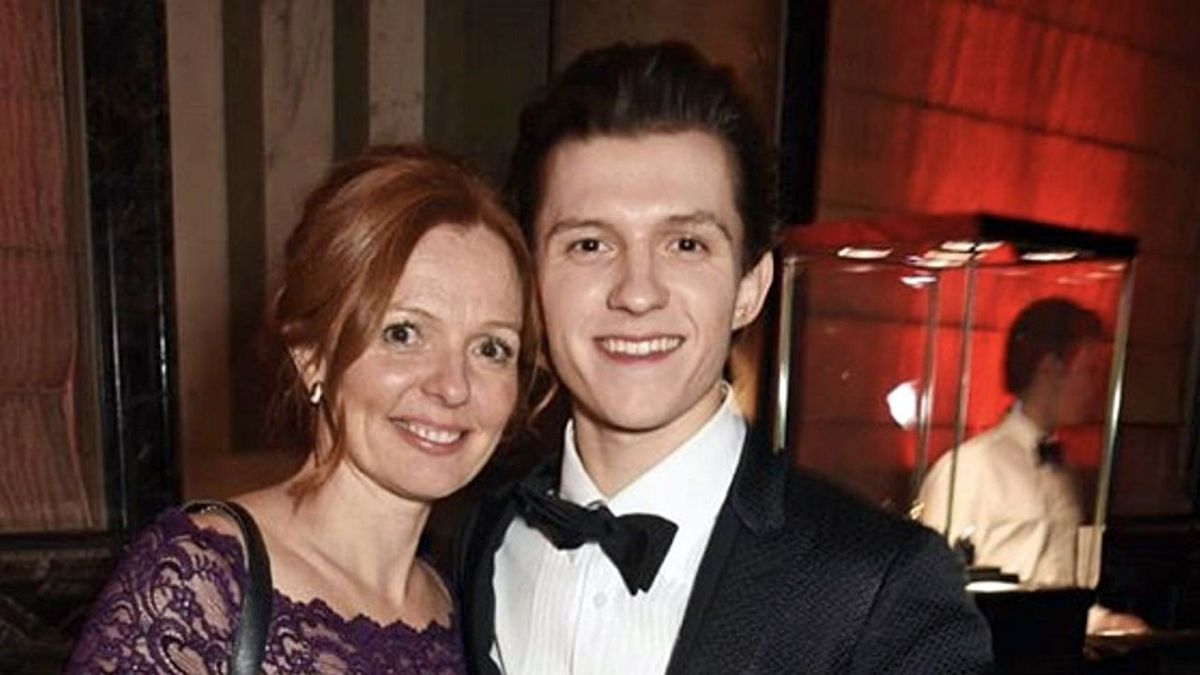 Nikki Holland and Tom Holland 20 Things You Probably Never Knew About Tom Holland
