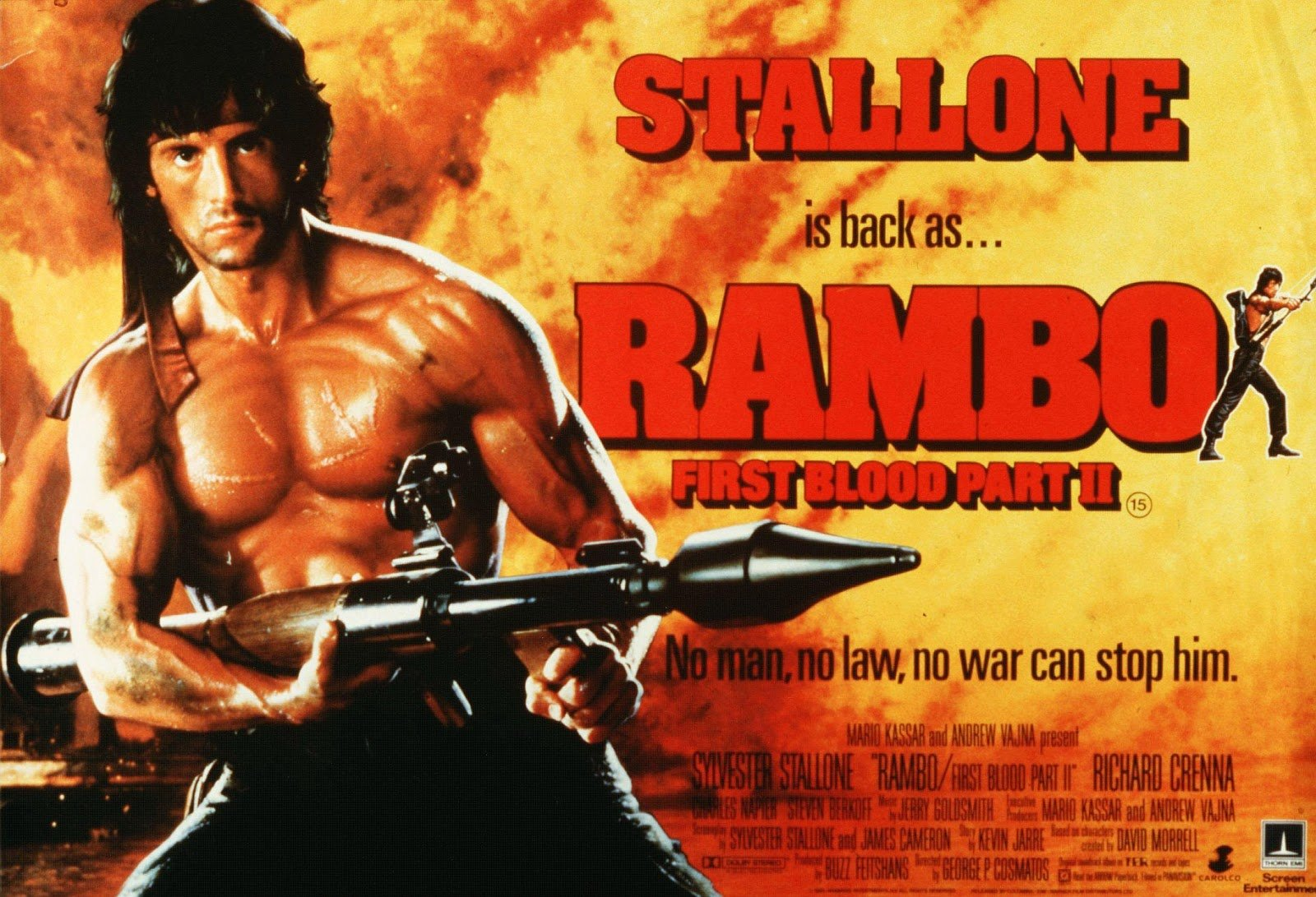 rambo 1 20 Things You Probably Didn't Know About Commando
