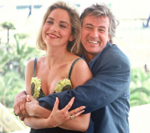sharon stone paul verhoeven e1614602018341 30 Scandalous Things You Never Knew About Basic Instinct