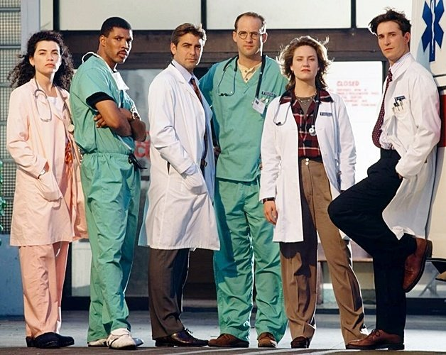 1 40 Here's What The Cast Of ER Look Like Today!