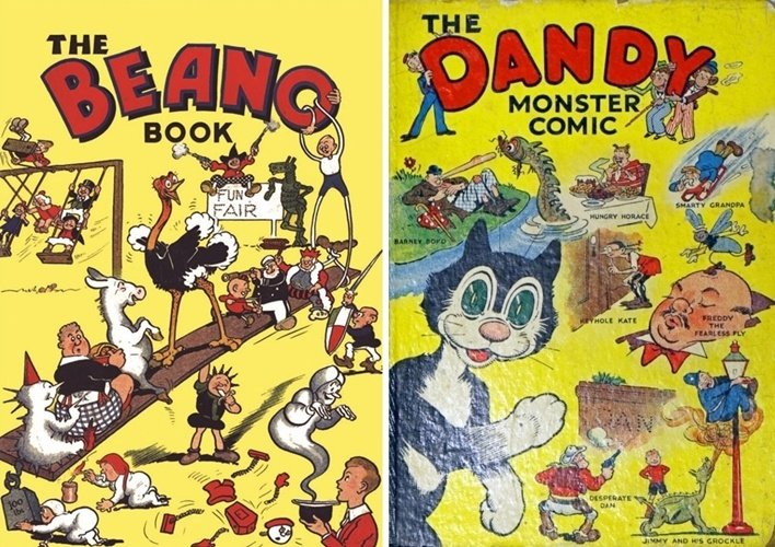 1and2 8 Childhood Annuals And Comics That Are Now Worth A Fortune