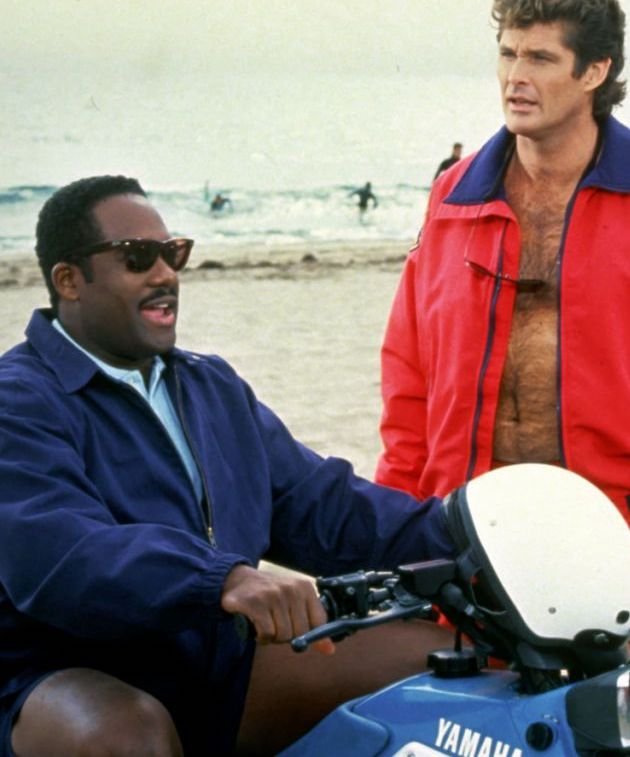Gregory Alan Williams as Garner Ellerbee in Baywatch