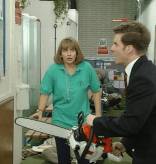 6Bloodthirsty 10 Things You Never Knew About The Brittas Empire