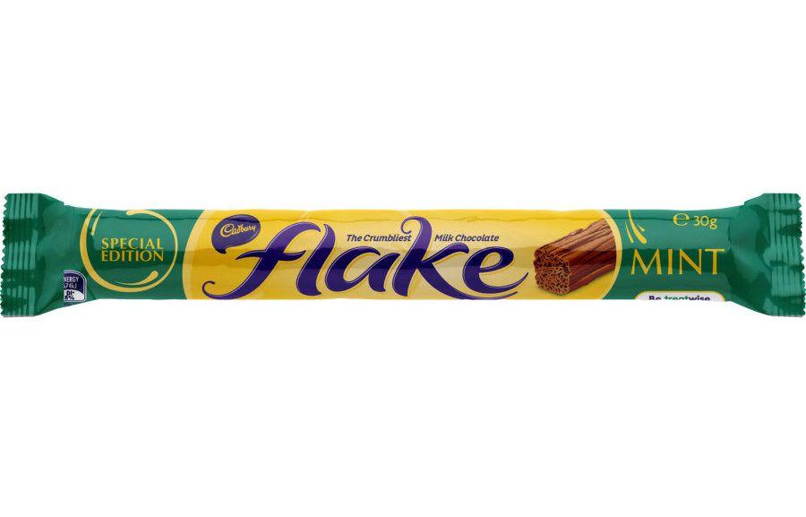 Cadbury Chocolate Bar Mint Flake Cadbury Launches New Mint-Flavoured Flake In Scotland Before Rest Of UK