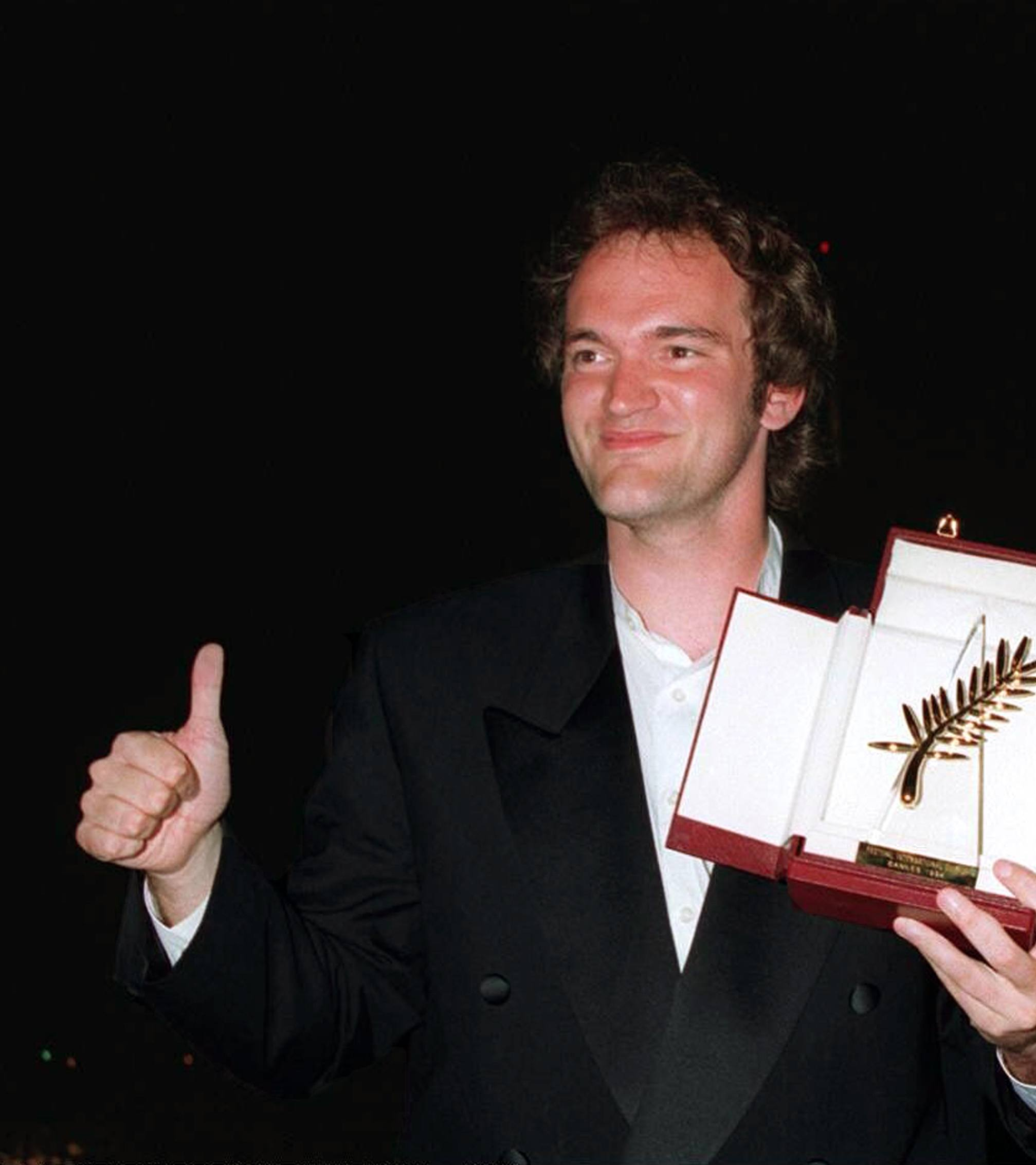 Cannes 1994 Quentin Tarantino Pulp Fiction 25 Things You Never Knew About Pulp Fiction