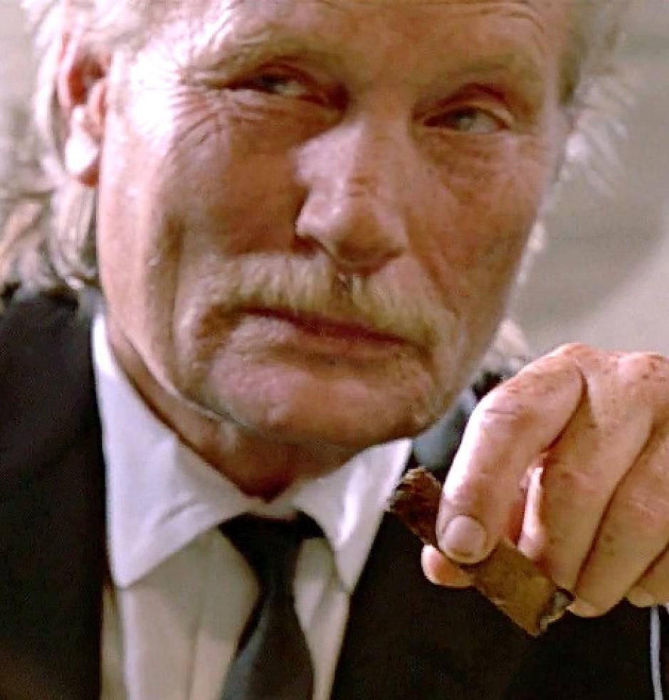 DHS Mr. Blue ex con novelist Eddie Bunker in Reservoir Dogs 25 Things You Never Knew About Reservoir Dogs