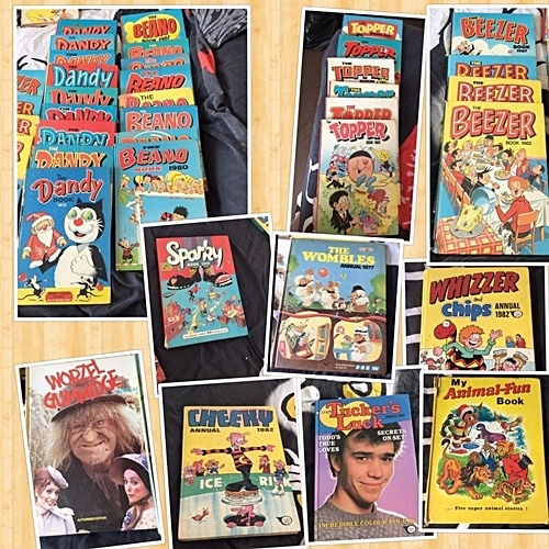 INTRO 8 Childhood Annuals And Comics That Are Now Worth A Fortune