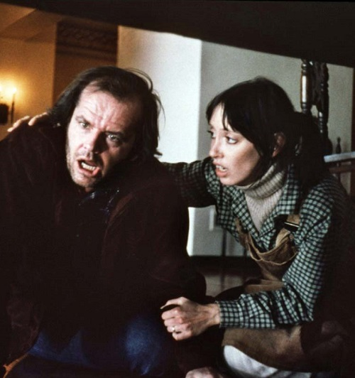 Jack Nicholson The Shining Shelley Duvall Stanley Heeeere's 20 Things You Never Knew About Stanley Kubrick's The Shining