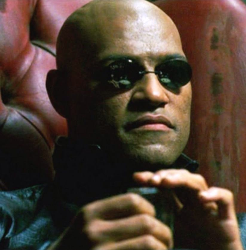 Laurence Fishburne as Morpheus The 20 Unreal Facts You Never Knew About The Matrix