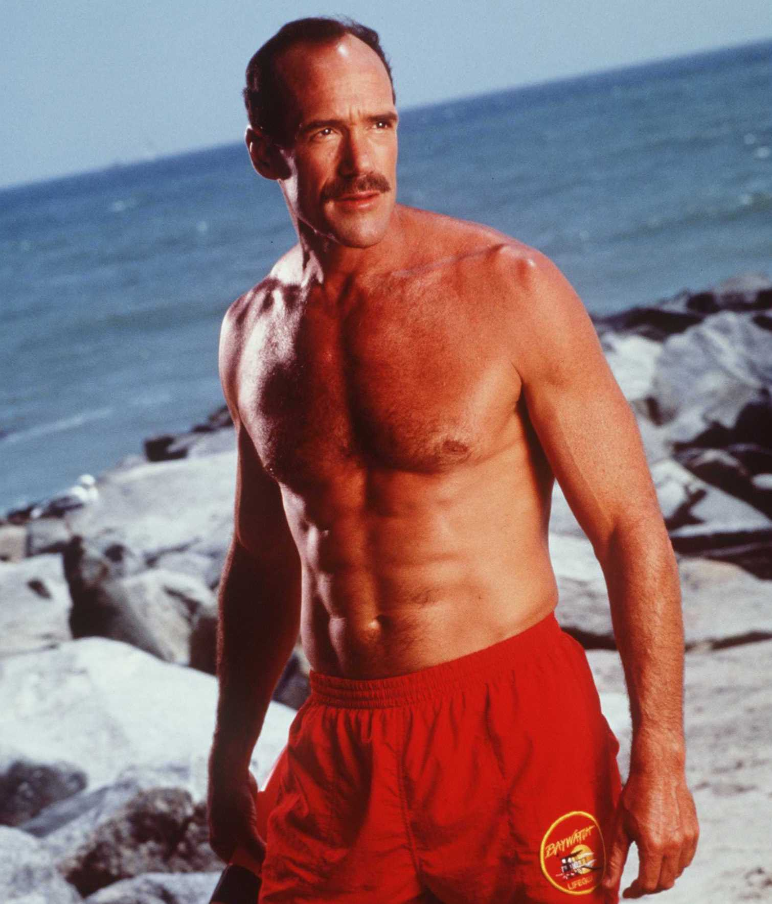 Michael Newman as Mike 'Newmie' Newman in Baywatch, 1997