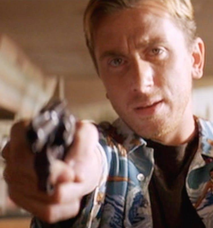 Tim Roth as Pumpkin in Pulp Fiction 25 Things You Never Knew About Pulp Fiction