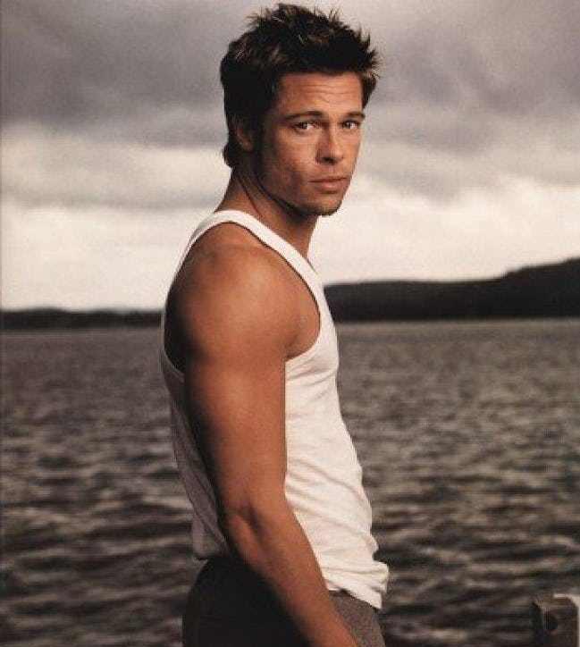 brad 18 e1564662556448 25 Things You Never Knew About Brad Pitt