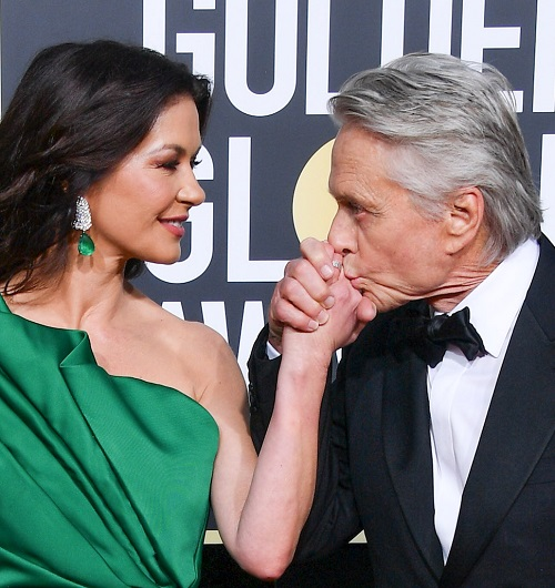 catherine zeta jones michael douglas golden globes 2019 20 Things You Might Not Have Realised About Michael Douglas