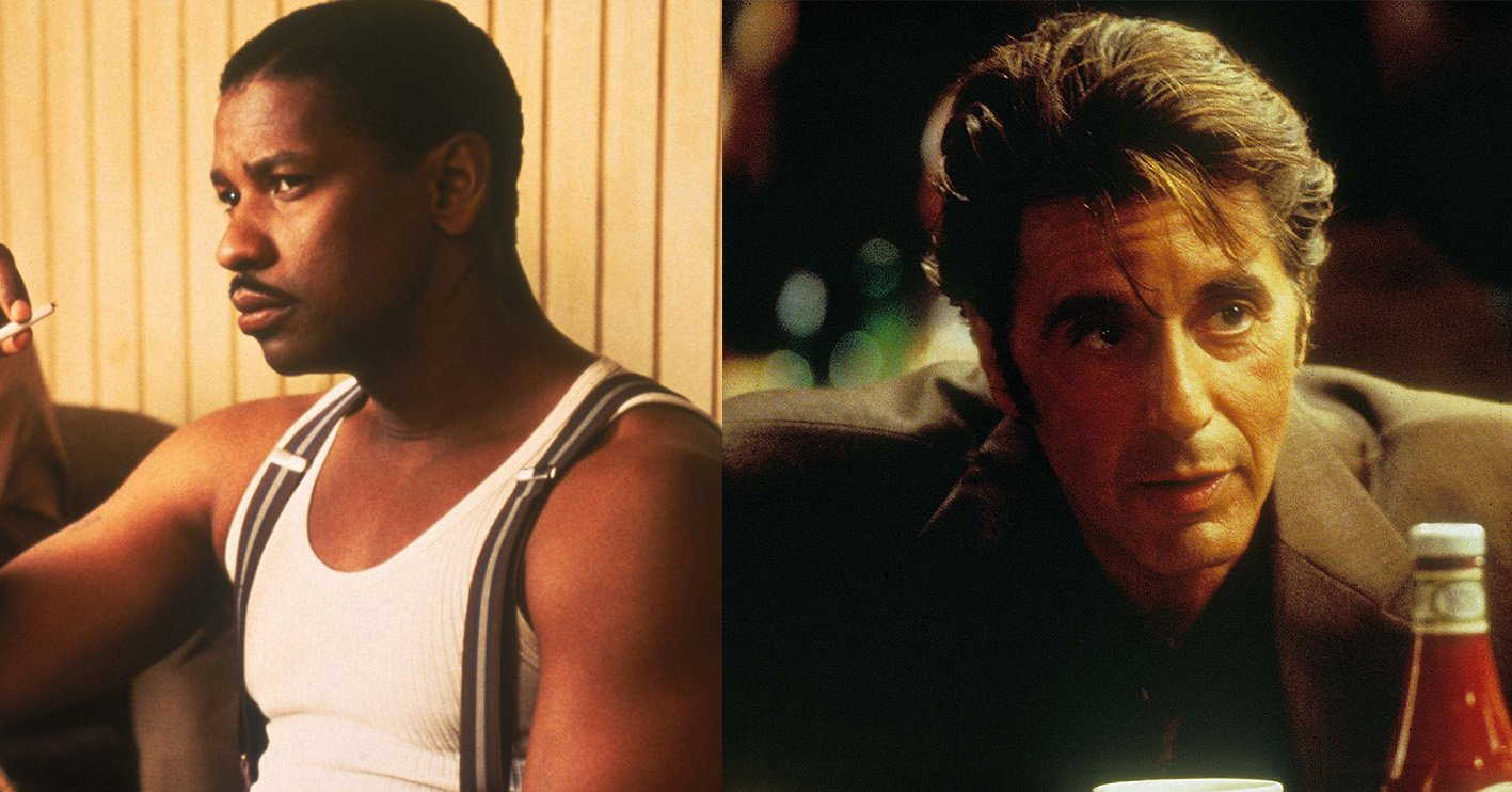denzel washington al pacino seven 10 Things You Never Knew About Seven