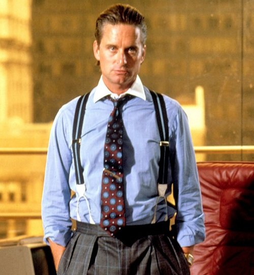 gordon gekko 3 20 Things You Might Not Have Realised About Michael Douglas