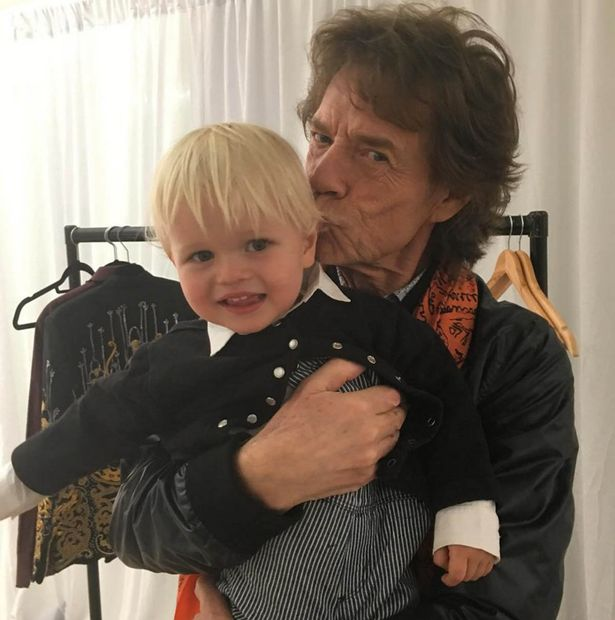mick jagger baby 10 Celebrity Couples With Huge Age Gaps