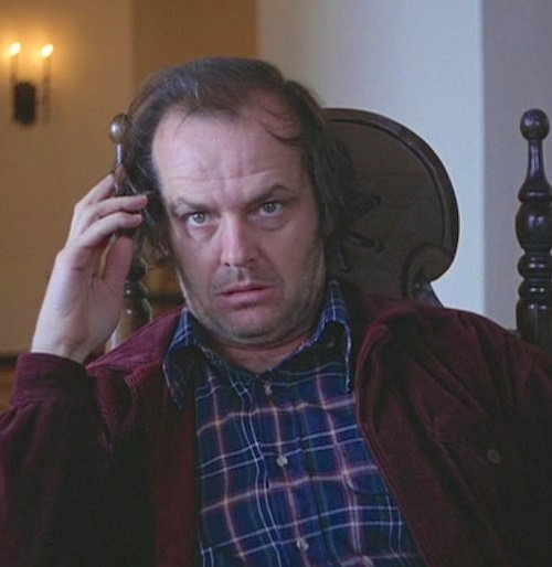 shiningjack cl1 shrt Heeeere's 20 Things You Never Knew About Stanley Kubrick's The Shining