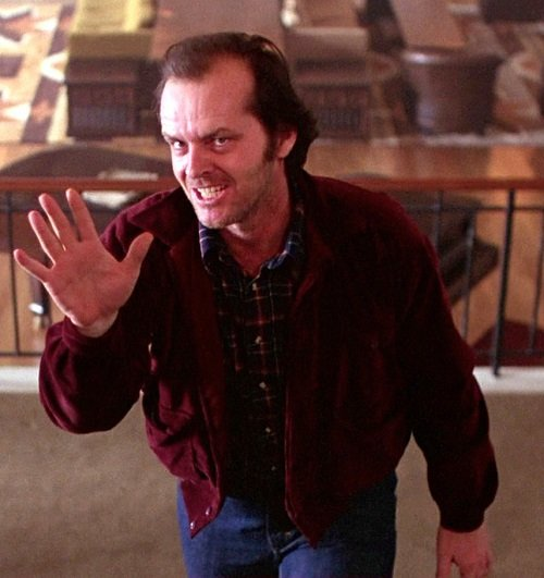 theshining jack stairs Heeeere's 20 Things You Never Knew About Stanley Kubrick's The Shining