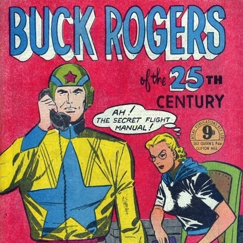 10 35 10 Futuristic Facts About Buck Rogers In The 25th Century