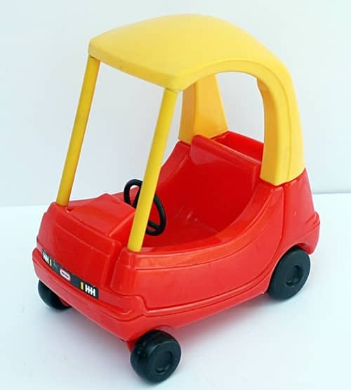2 41 There's An Adult Version Of The Little Tikes Cozy Coupe, And It's Roadworthy!
