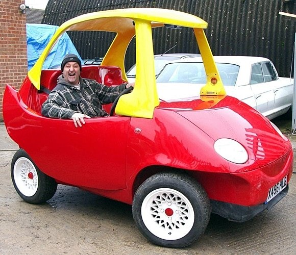 3 36 There's An Adult Version Of The Little Tikes Cozy Coupe, And It's Roadworthy!