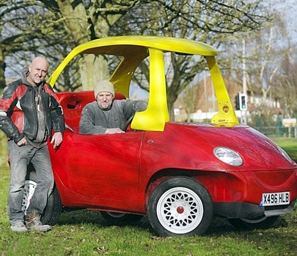 4 32 There's An Adult Version Of The Little Tikes Cozy Coupe, And It's Roadworthy!