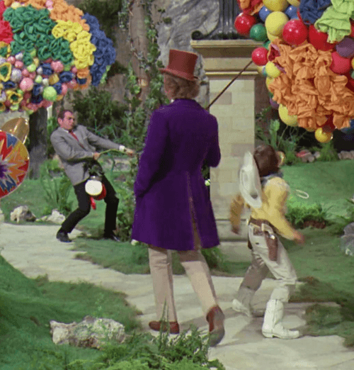 9Garden 28 Things You Probably Never Knew About Willy Wonka And The Chocolate Factory