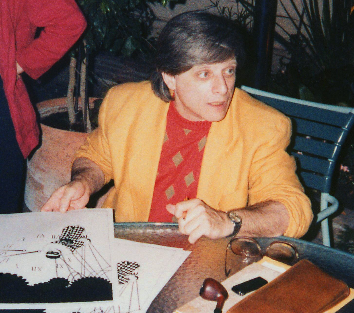 Harlan Ellison at the LA Press Club 19860712 e1626347337193 20 Things You Might Not Have Realised About The Terminator