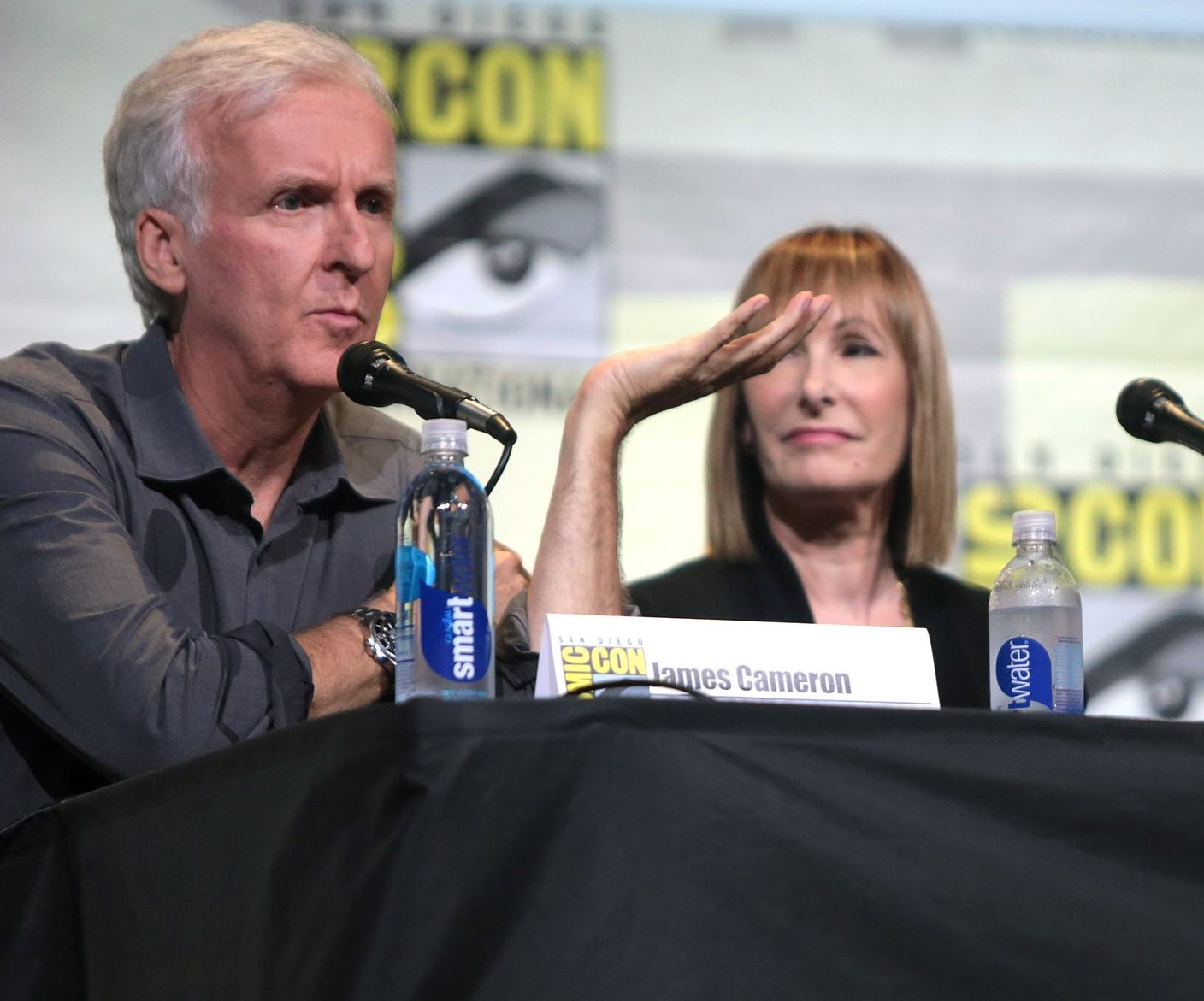 James Cameron Gale Anne Hurd Sigourney Weaver 28335787060 e1626346115981 20 Things You Might Not Have Realised About The Terminator